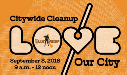 CITYWIDE CLEANUP-LOVE OUR CITY