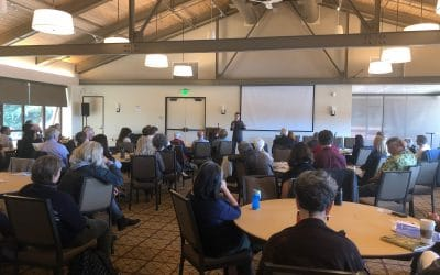 Kudos to Kevin Drew and Reinhard Hohlwein! Climate Summit Speaker Series at Presidio Trust Is A Huge Success!