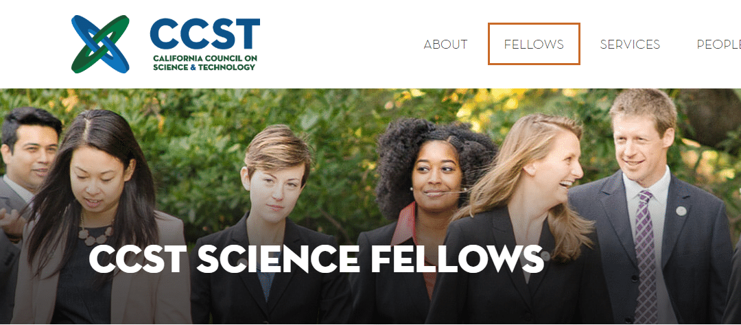 WE HAVE SCIENCE POLICY FELLOWSHIPS FOR PHD SCIENTISTS AND ENGINEERS!