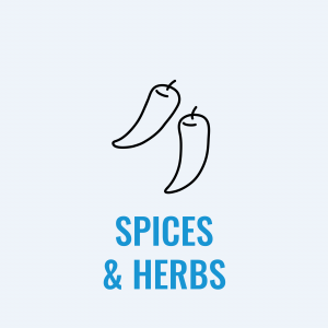 Spices, Flavoring & Herbs