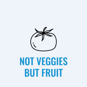 Fruits Commonly Thought of as Vegetables
